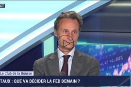 Intervention de Cedric Besson dans le Club de la Bourse sur BFM Business le 30 juillet 2019