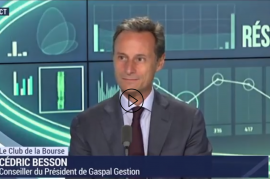 Intervention de Cedric Besson dans le Club de la Bourse sur BFM Business le 16 septembre 2019